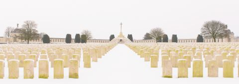 Tyne Cot in snow