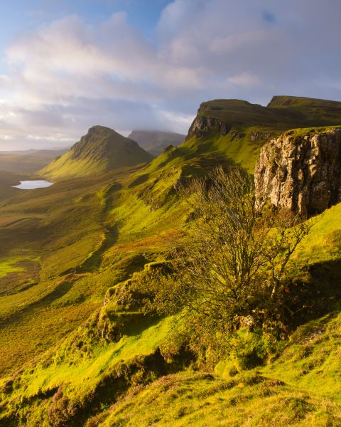 Morning light at the Quiraing