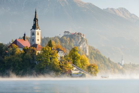 Bled at sunrise